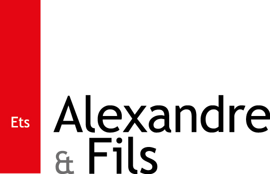 Logo Alexandre & Fils sarl.