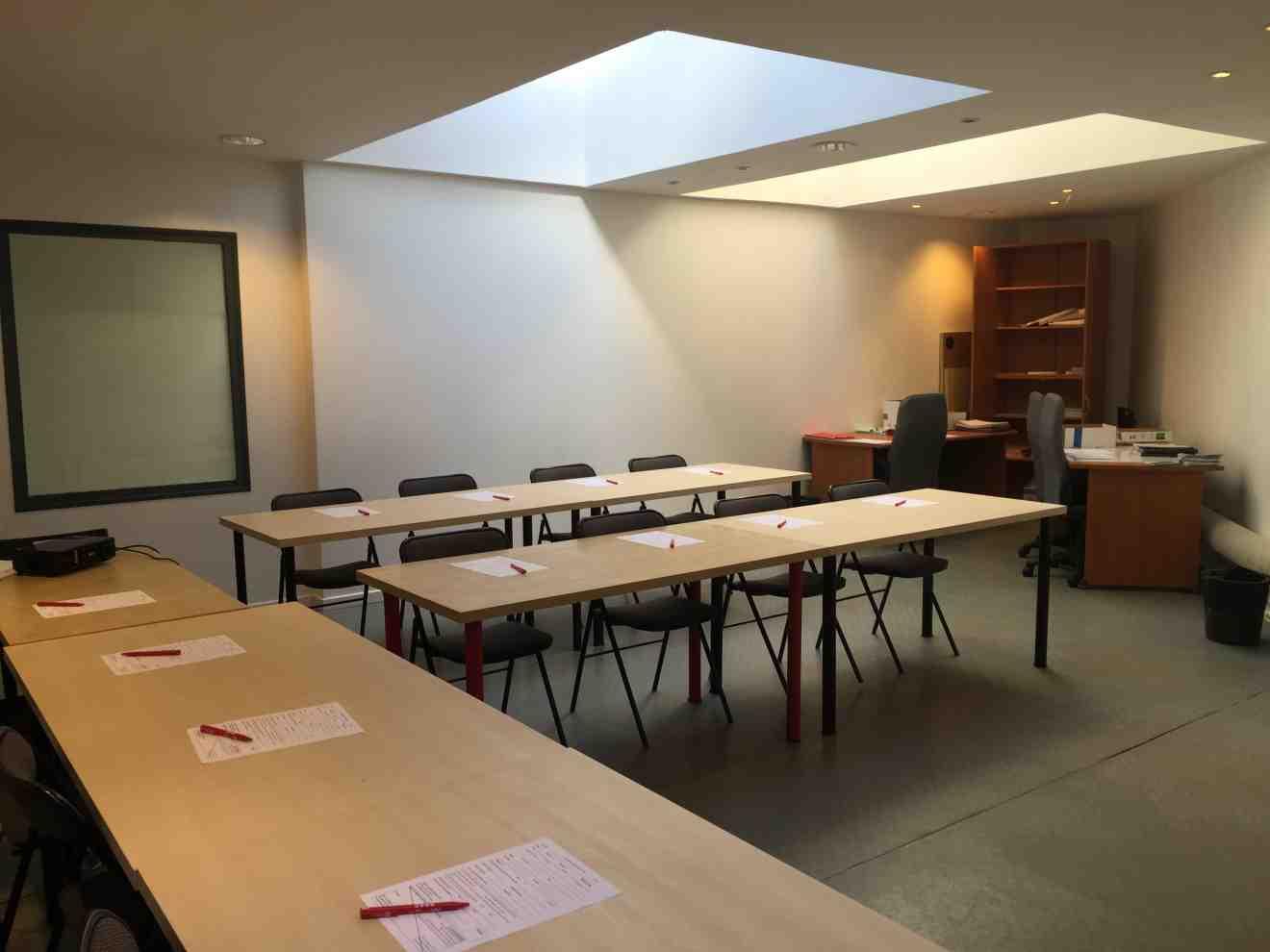 Grande salle de réunion Centre d'Affaires Solférino.