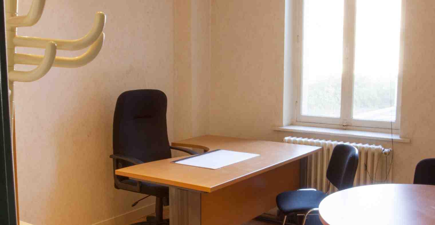 Exemple bureau du 1er étage du Centre d'Affaires Solférino.