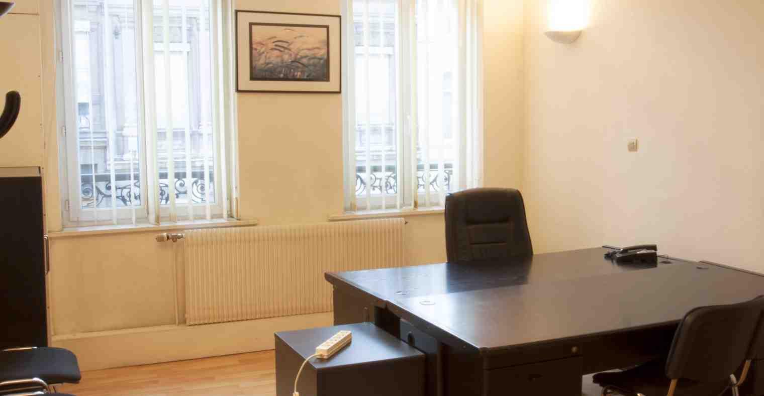 Exemple bureau du 1er etage du Centre d'Affaires Solferino.